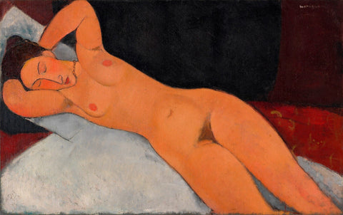 Amedeo Modigliani - Nude 1917