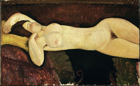 Amedeo Modigliani - Le grand Nu (The great nude)