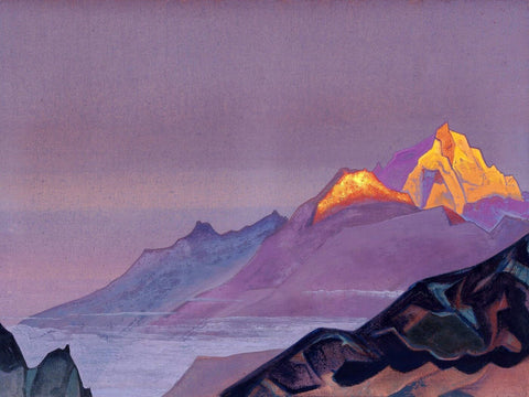 Path To Shambhala by Nicholas Roerich