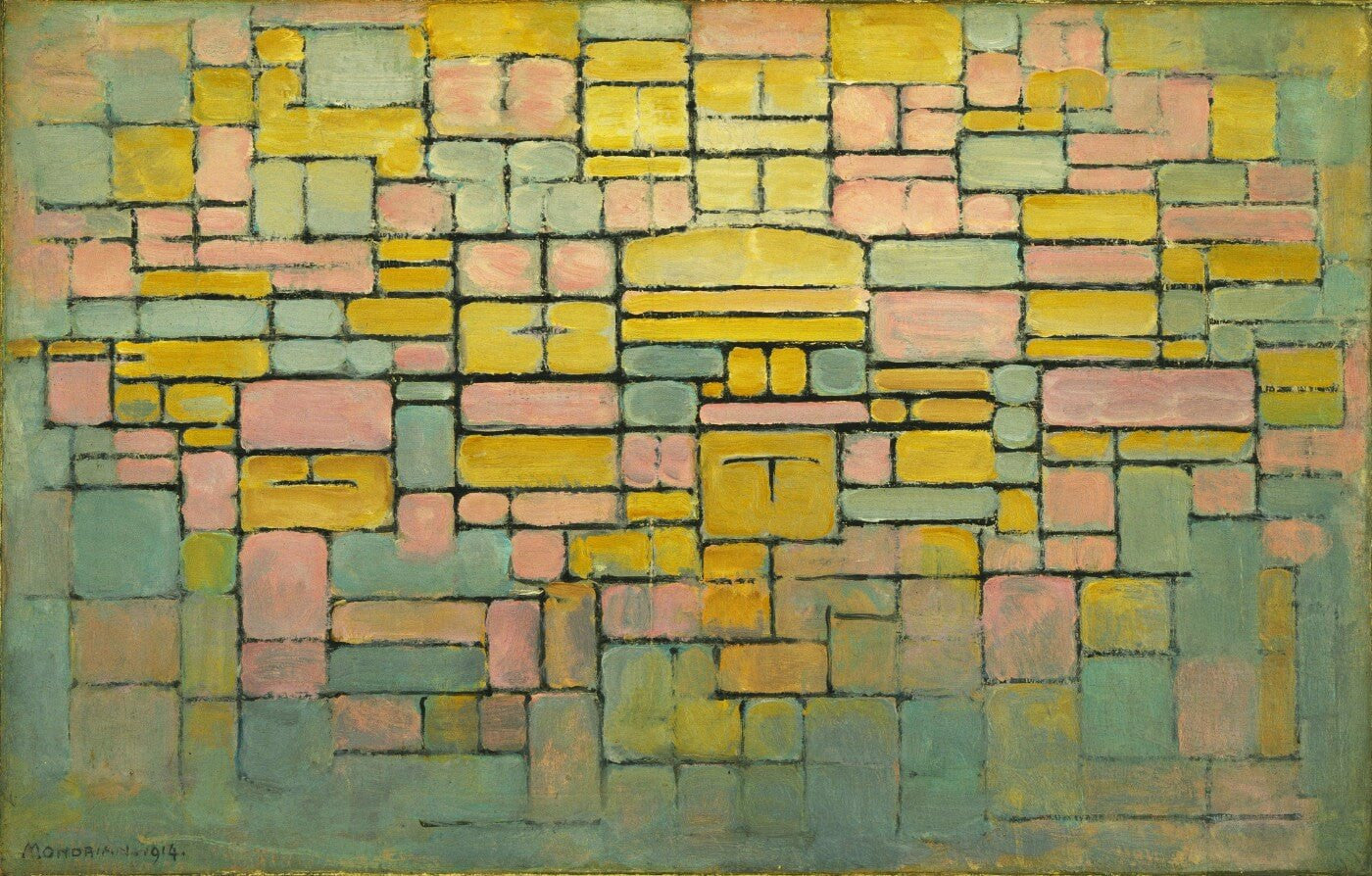 Tableau No. 2 - Large Art Prints by Piet Mondrian | Buy Posters ...
