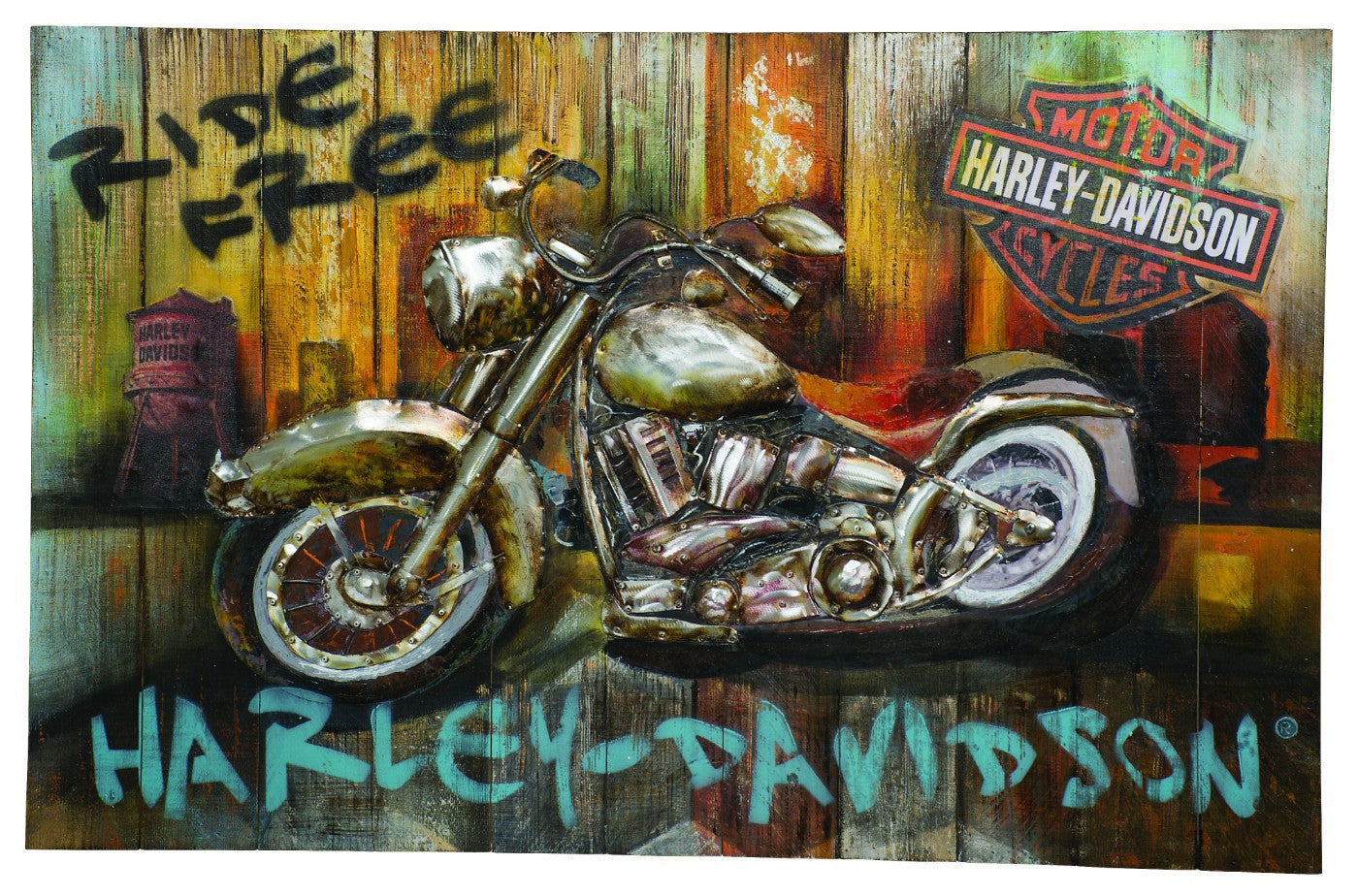 Harley Davidson Posters By Tommy Buy Posters Frames