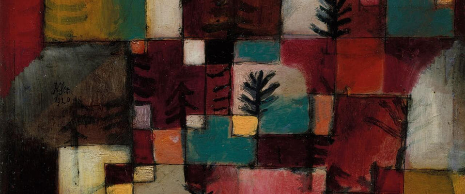 Redgreen and Violet-yellow Rhythms by Paul Klee | Buy Posters, Frames, Canvas  & Digital Art Prints