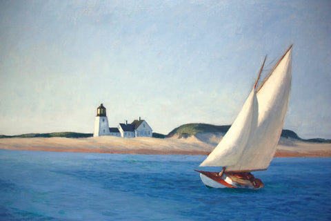 Long Leg by Edward Hopper