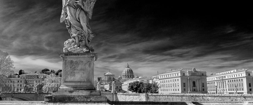 Rome - Saint Angel Bridge by Giordano Aita | Buy Posters, Frames, Canvas  & Digital Art Prints