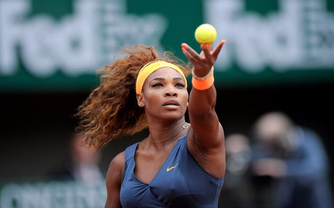 Spirit Of Sports - Wimbledon Tennis - Serena Williams by Christopher Noel