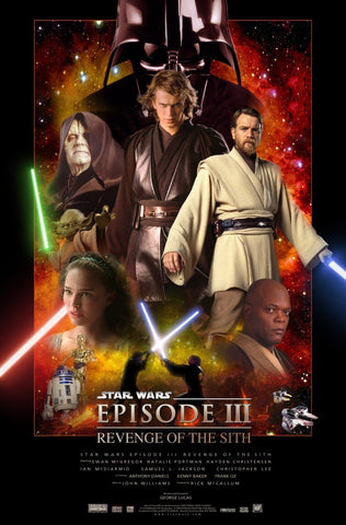 Attack Of The Clones - Posters