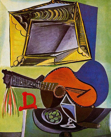 Still Life with Guitar - Posters