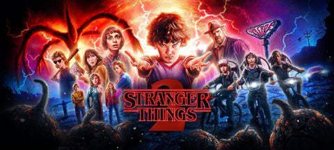 Stranger Things - It's close to midnight and something evil's lurkin in the dark - Life Size Posters