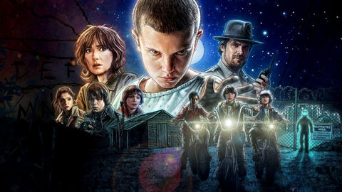 Stranger Things - Arcade - Art Prints