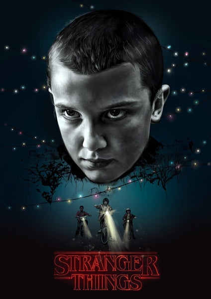 Stranger Things - Night - Canvas Prints