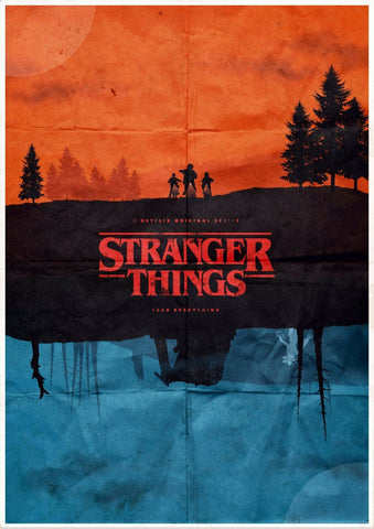 Stranger Things - Framed Prints