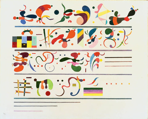 Succession by Wassily Kandinsky
