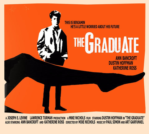 Tallenge Hollywood Collection - Movie Poster - The Graduate