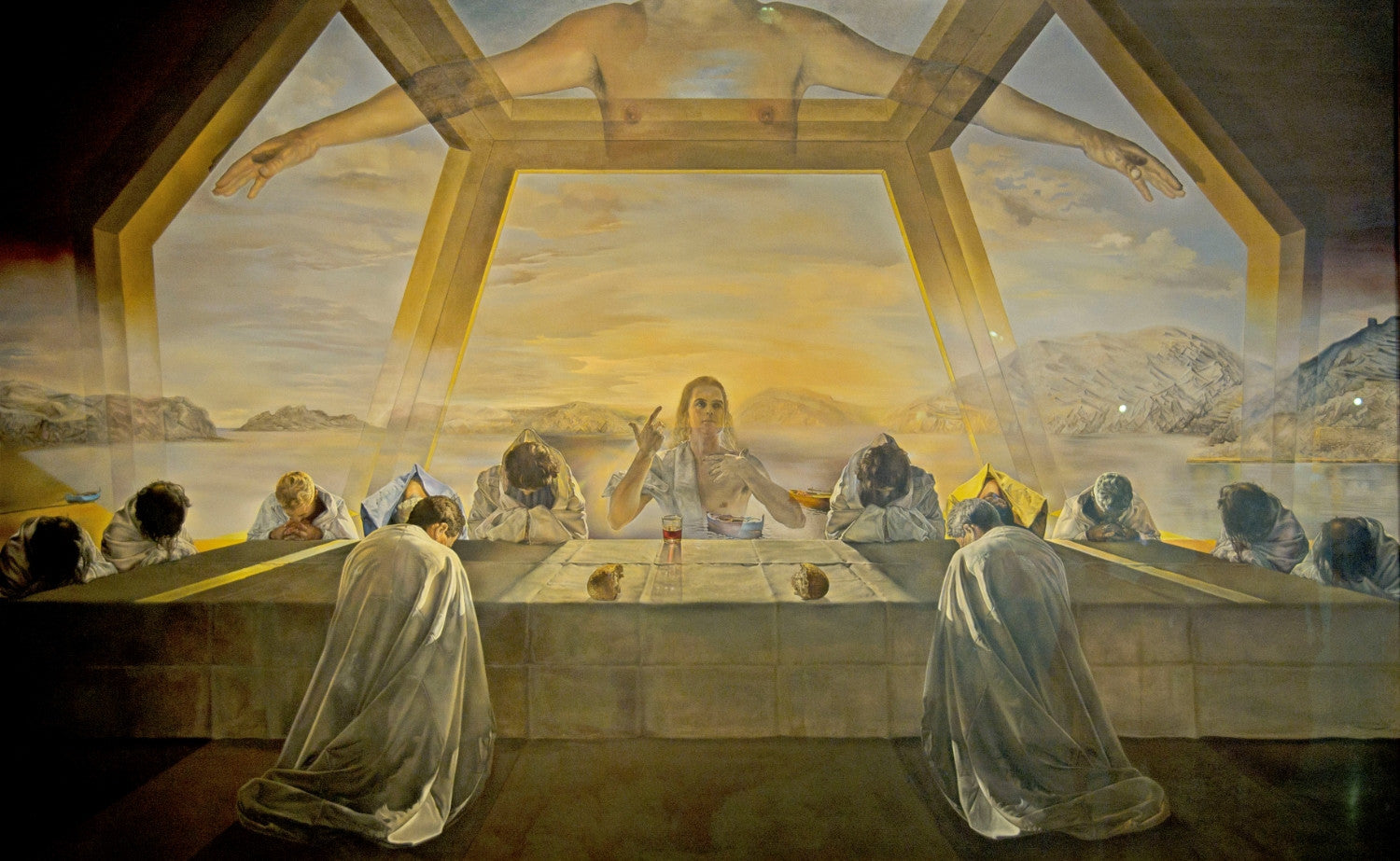The Sacrament Of The Last Supper Framed Prints By Salvador Dali