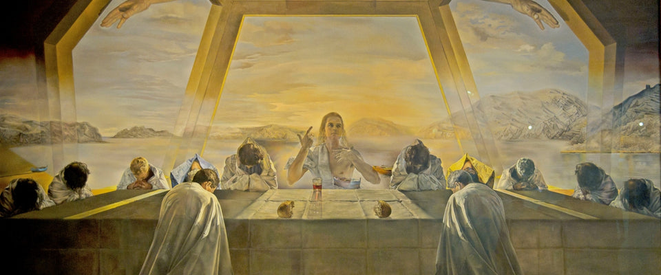 The Sacrament of The Last Supper by Salvador Dali | Buy Posters, Frames, Canvas  & Digital Art Prints