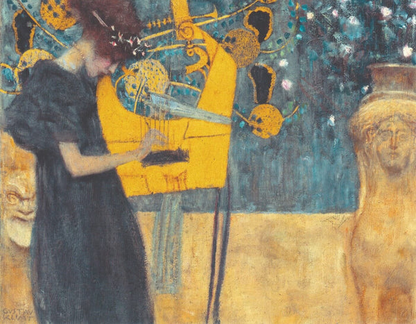 Artwork of The Music (Musik) – Gustav Klimt by Gustav Klimt
