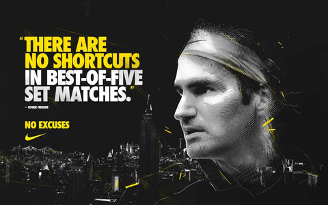 Spirit Of Sports - There Are No Shortcuts - Roger Federer - Legend Of Tennis