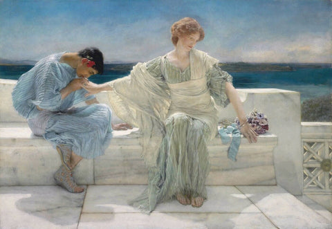 Ask Me No More by Lawrence Alma Tadema