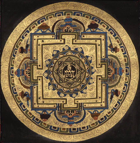 Indian Miniature Art - Chakra