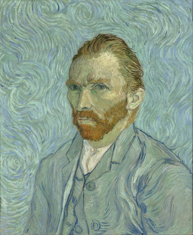 Van Gogh - Self Portrait - I