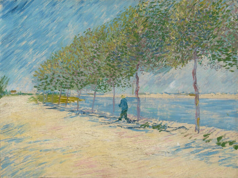 By The Seine - Vincent Van Gogh