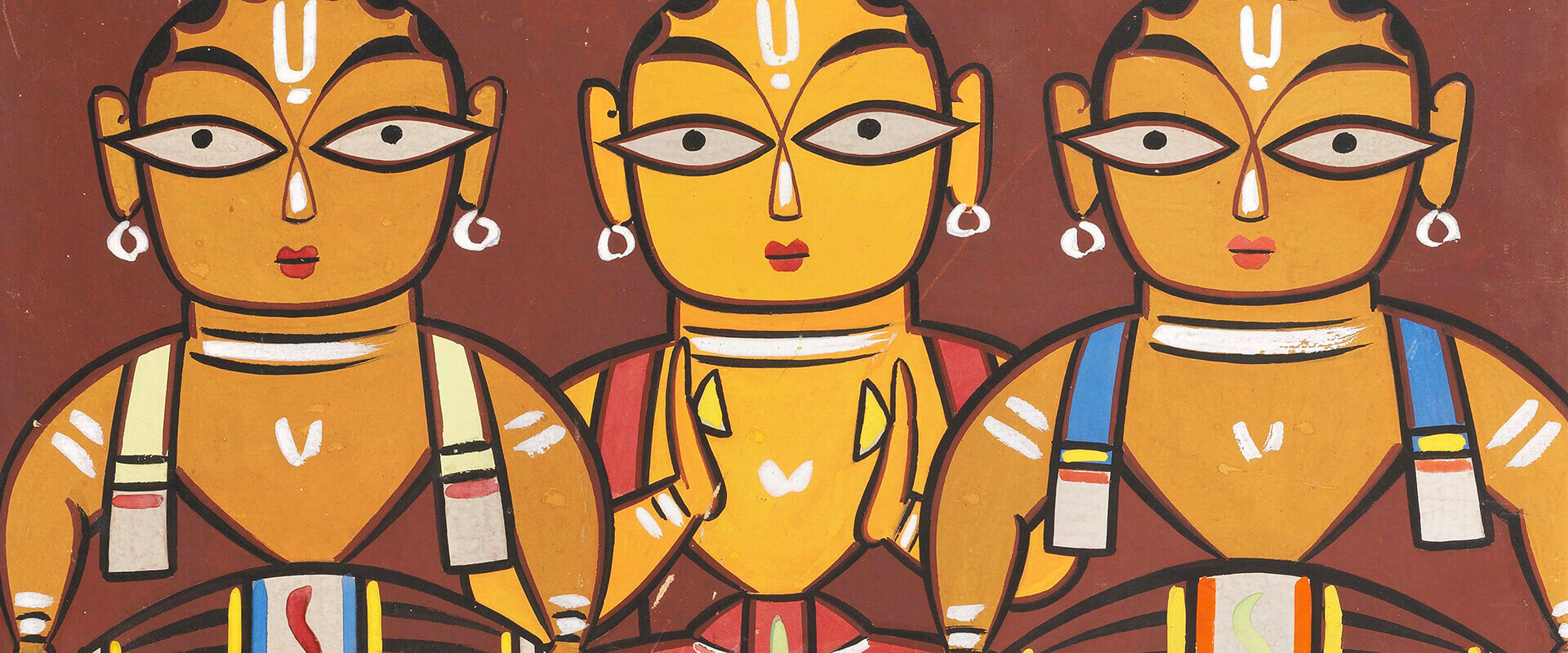 Jamini Roy Paintings Artworks Collection | Buy Posters, Frames, Canvas, Digital Art & Large Size Prints Of The Famous Old Master's Artworks