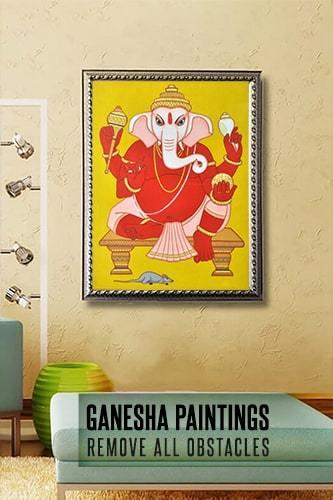 Ganesha Paintings Collection