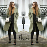 Zara Waterfall Drape Coat