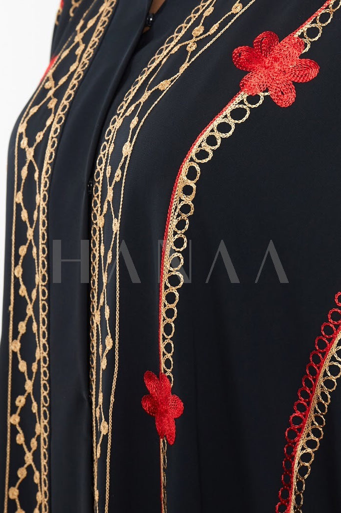 Sarah Embroidered Abaya