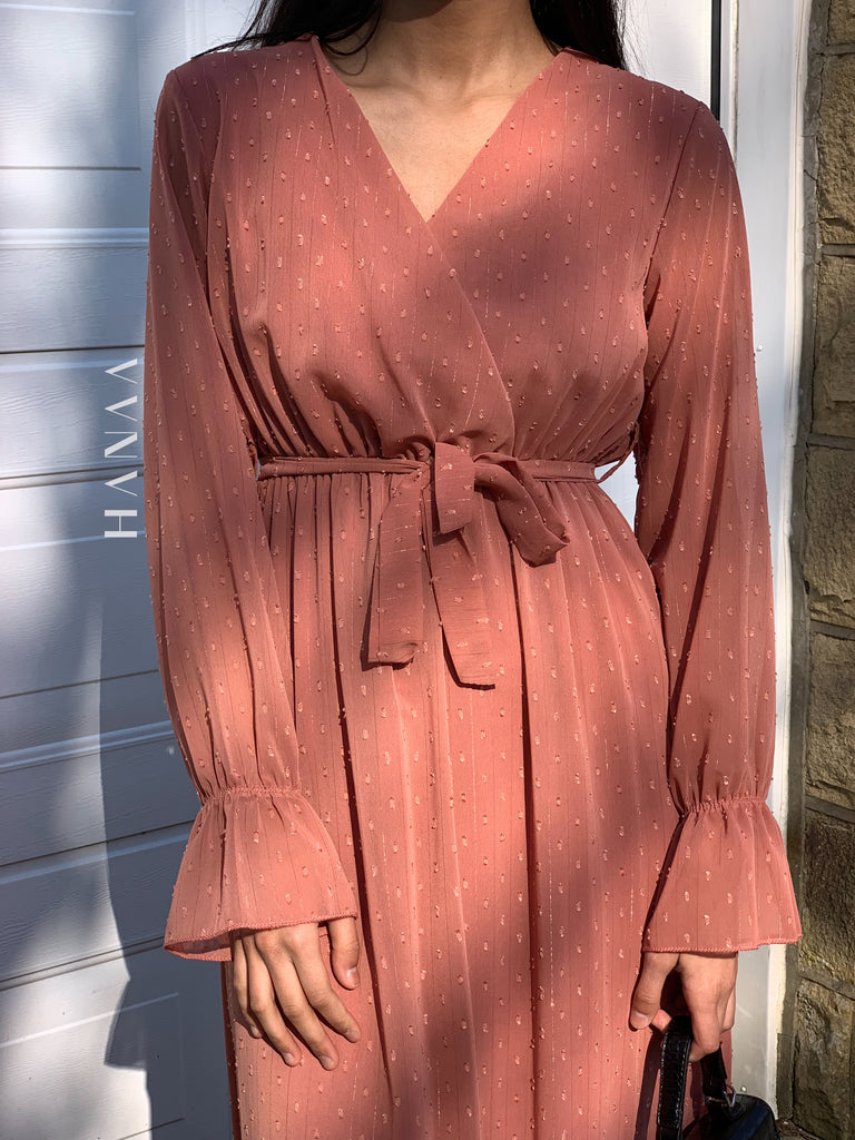 Safiyah Maxi Dress - Rose - RTD