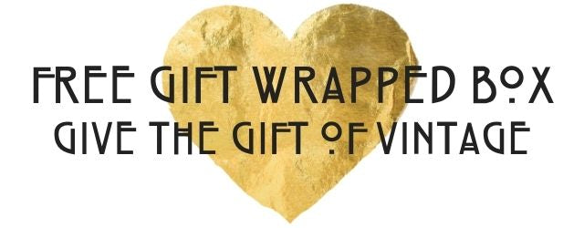 Vintage Online Free Gift Wrapped Box