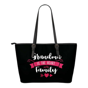 Grandma Is The Heart Of The Family Tote