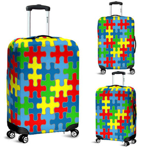 Autism Awareness Luggage Covers