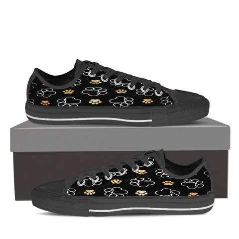Image of Dog Paw Women's Low Top