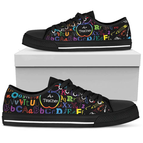 Teacher Low Top Canvas Shoe