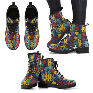 Autism Awareness Boots