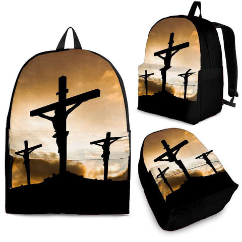 Jesus Cruxifiction Backpack