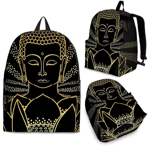 Buddha and Lotus Backpack