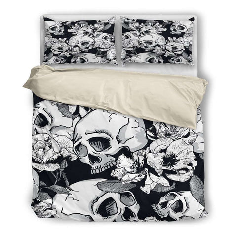 Image of Skull Bedding Set