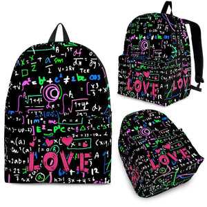 Love Math Backpack