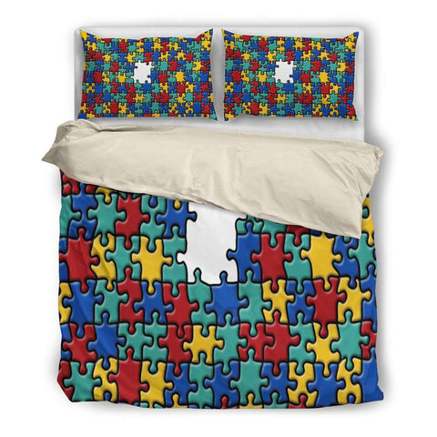Autism Awareness Bedding Set