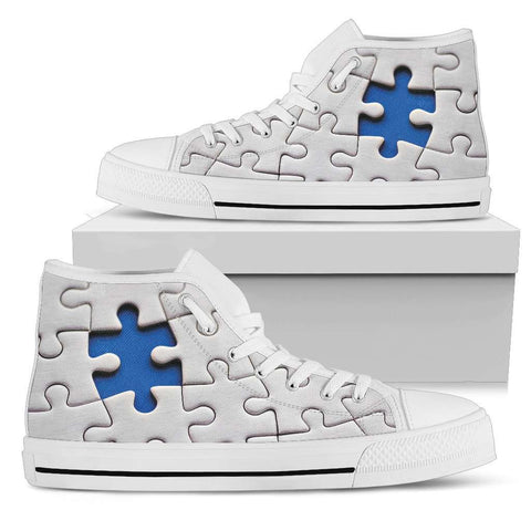 Autism Awareness High Tops