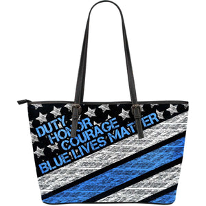 Blue Lives Matter Tote Bag