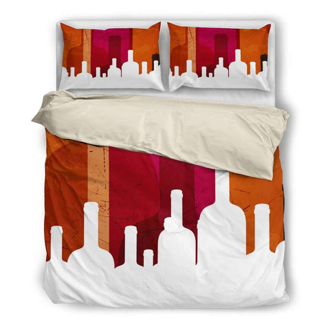 Wine Bedding Set