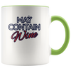 May Contain Wine mug