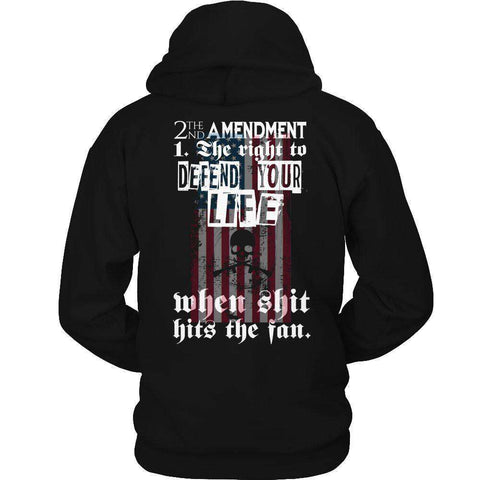 Image of 2nd Amendment The Right To Defend Your Life T Shirt