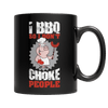 I BBQ So I Don't Choke People Mug