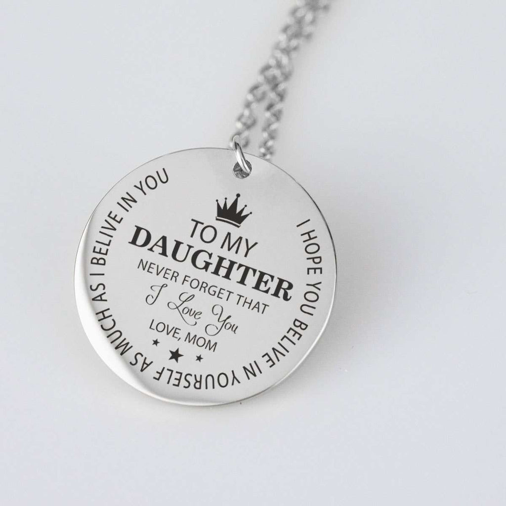Download To My Daughter Never Forget That I Love You Love MOM ...