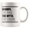 Grandpa the man the myth the legend Mug