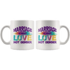 Marriage Is About Love Not Gender Coffee Mug
